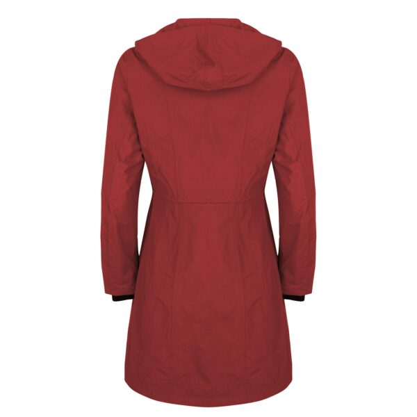 HappyRainydays shaped Coat Rood